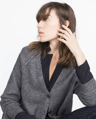 Zara Visible Seam Jacket