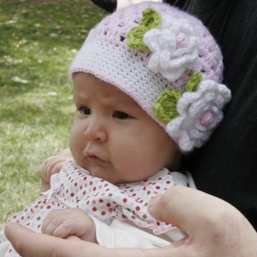 Pink Springtime Hat - Free Pattern