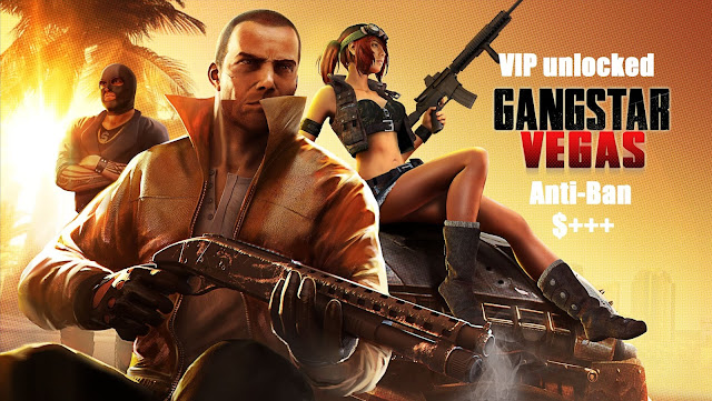 Download Gangstar Vegas VIP Mod Apk Unlimited Money Anti-Ban