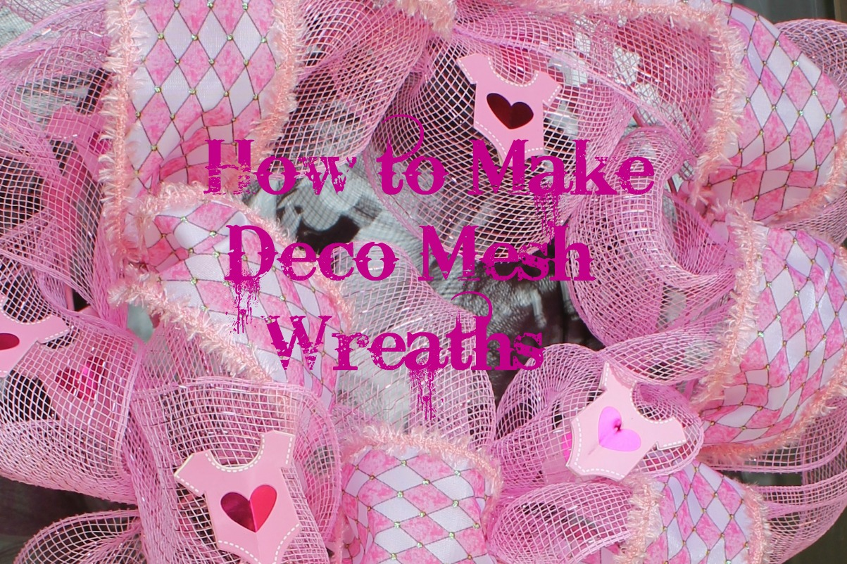 How To Make Deco Mesh Wreaths Miss Kopy Kat