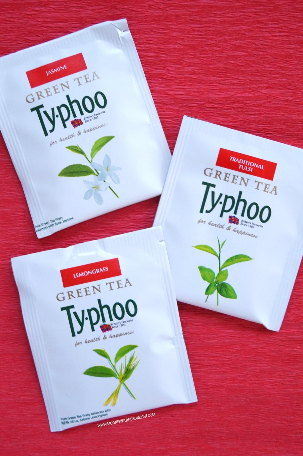 Jasmine , Traditional Tulsi, Lemongrass Green Tea