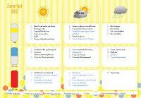 summer bucket list template