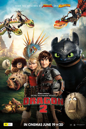 How to Train Your Dragon 2 2014 Dual Audio