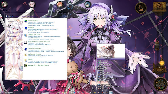 Clockwork Planet Theme Win 7 by Andrea_37