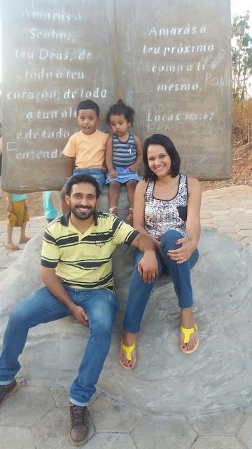 familia guardada em Deus