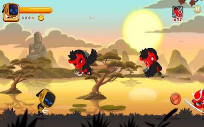 Ninja Dash mod kim cương (gems)
