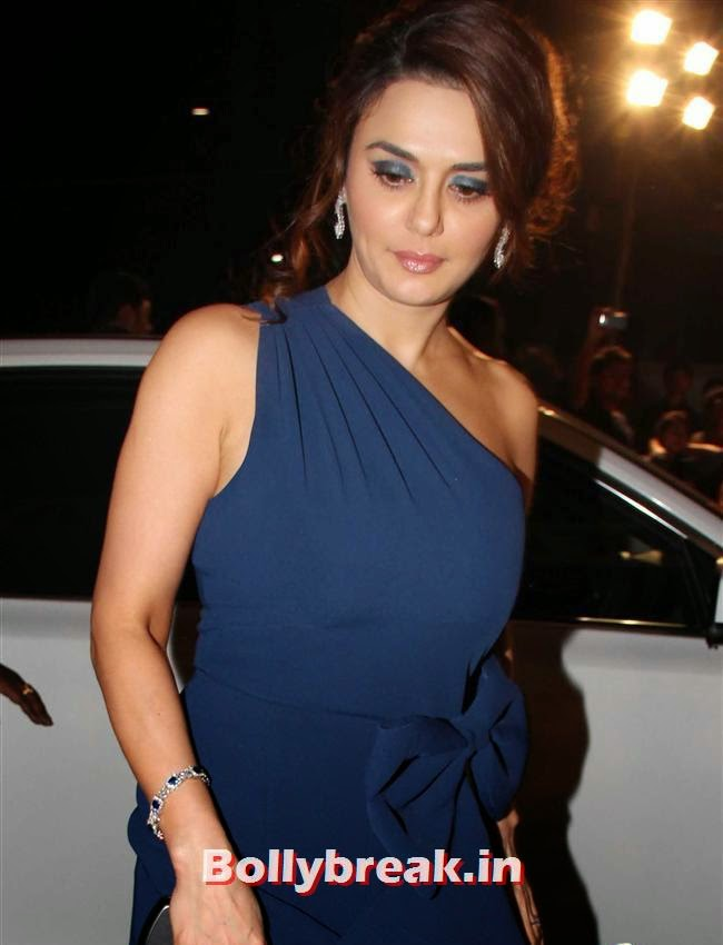 Preity Zinta, Filmfare Awards 2014 Red carpet Images