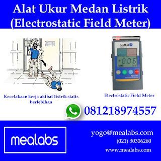 Alat ukur medan listrik (electrostatic field meter)