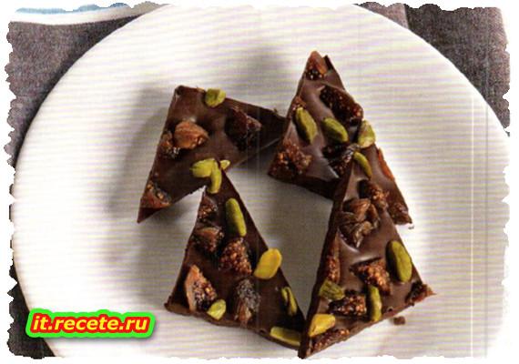 """""""Croccante"""" di cioccolato e frutta secca"""