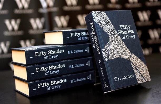 Lækker den har jeg lest: E L James - Fifty Shades of Grey OY-45