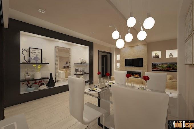 Amenajare interioara living apartament cu 4 camere in stil modern