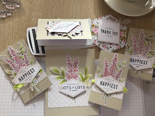 Lots of Happy Card Kit, Stampin Up, Coffee and Cards