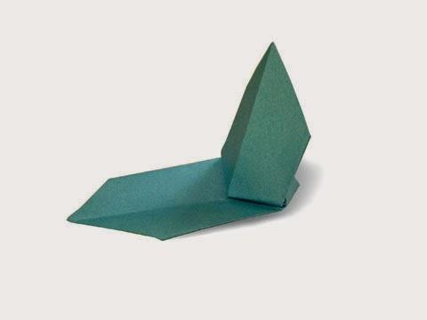 Cách gấp, xếp chiếc thuyền buồm bằng giấy origami - Video hướng dẫn xếp hình - How to make a Sail Boat