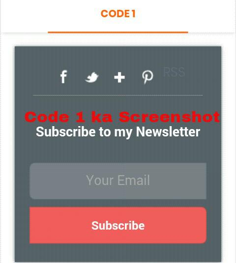 Code 1 Screenshot