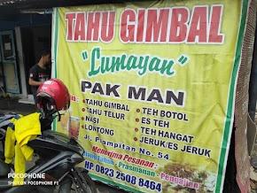 Mencicipi Tahu Gimbal Lumayan Pak Man Semarang, Mantul!