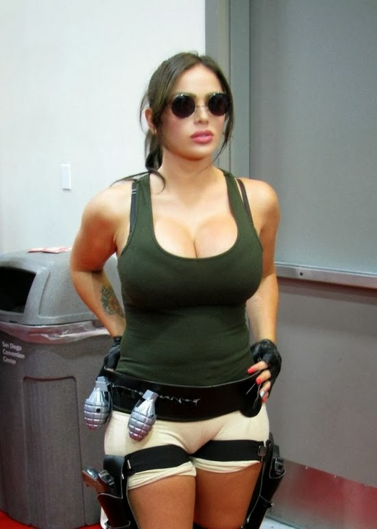 Theme simply lara croft topless are not