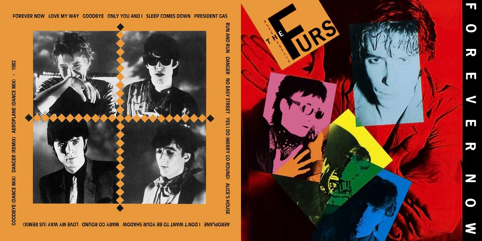 All The Air In My Lungs Psychedelic Furs Forever Now 1982