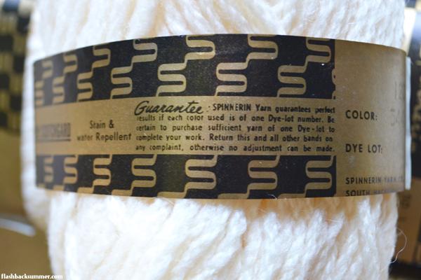 Flashback Summer: 1964 Spinnerin Deadstock Vintage Yarn