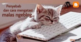 Faktor penyebab malas ngeblog dan solusi cara mengatasinya