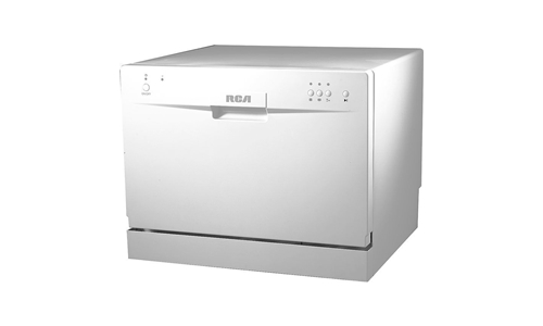 RCA RCA RDW3208 countertop dishwasher specification and picture