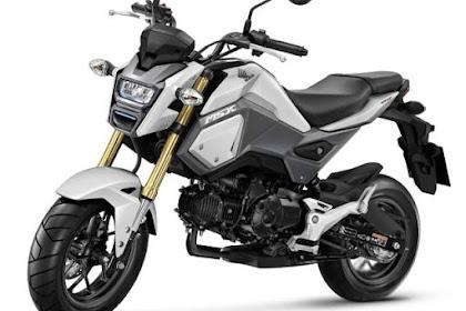 New Honda MSX 125 SP aka New Honda GROM 2016