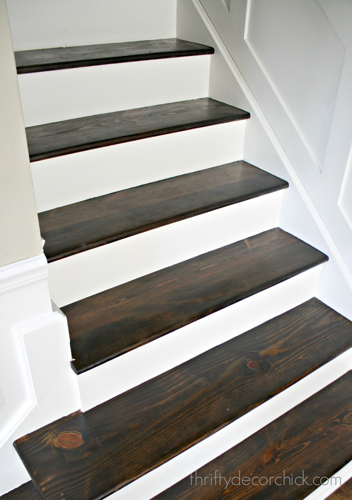 Jacobean Stain On Wood Steps
