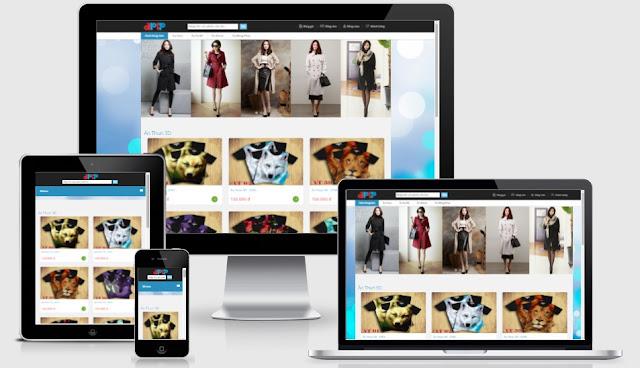 Template blogspot bán hàng quần áo đồng phục