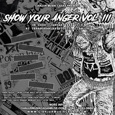 Regulation Cianjur Musik Cadas : Show Your Anger Volume 3