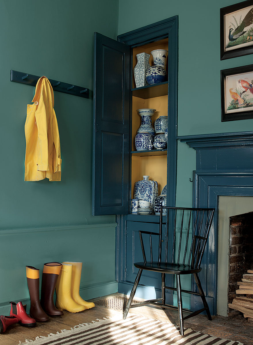 Lisa Mende Design Benjamin Moore Williamsburg Paint