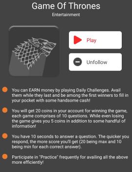 The Quiz Money: Play Quiz and Earn Paytm Cash ~ Free Paytm