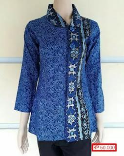 Model Baju Batik Atas Bawah Untuk Guru