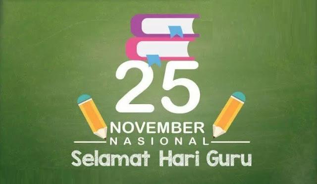 Lirik Lagu Jasamu Guru, Selamat Hari Guru Nasional 25 November