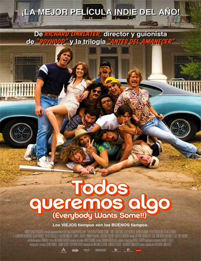 ver Todos queremos algo (Everybody Wants Some!!) (2016) Online