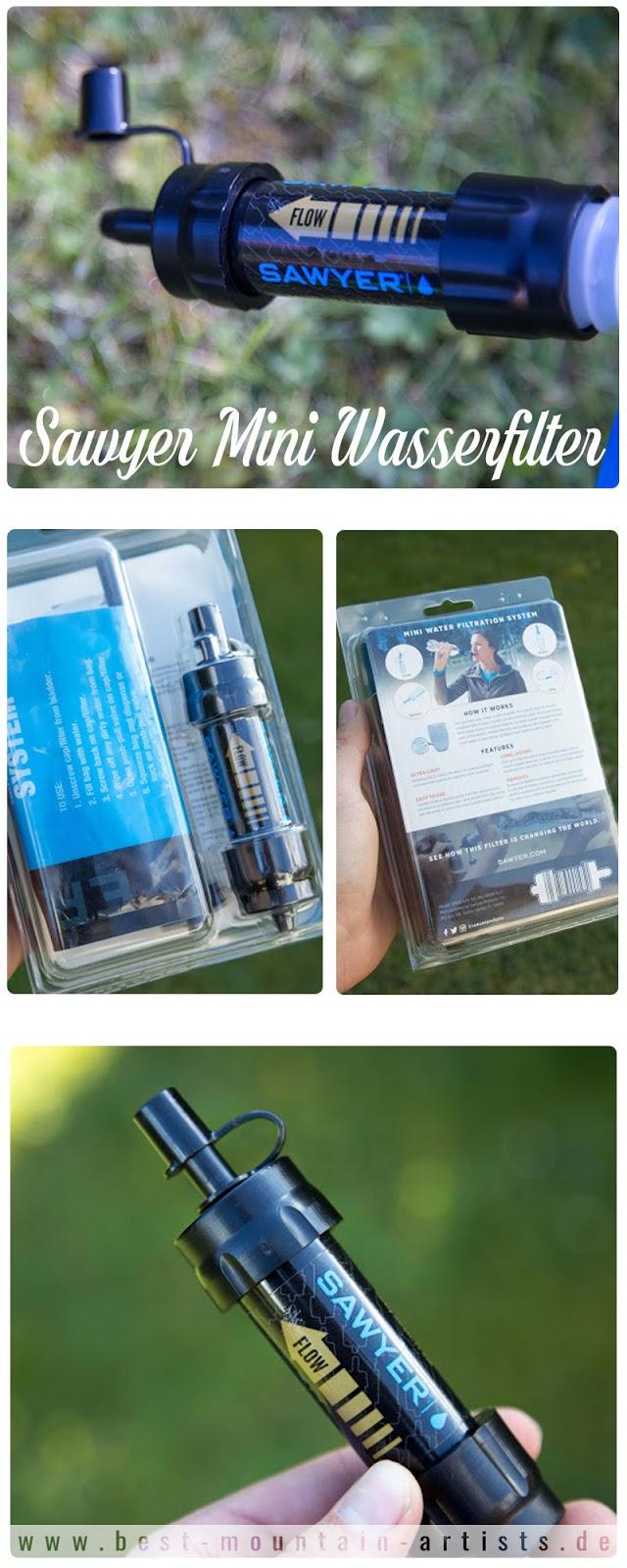 Sawyer Mini Wasserfilter outdoor-gadgets Wasserreinigung camping