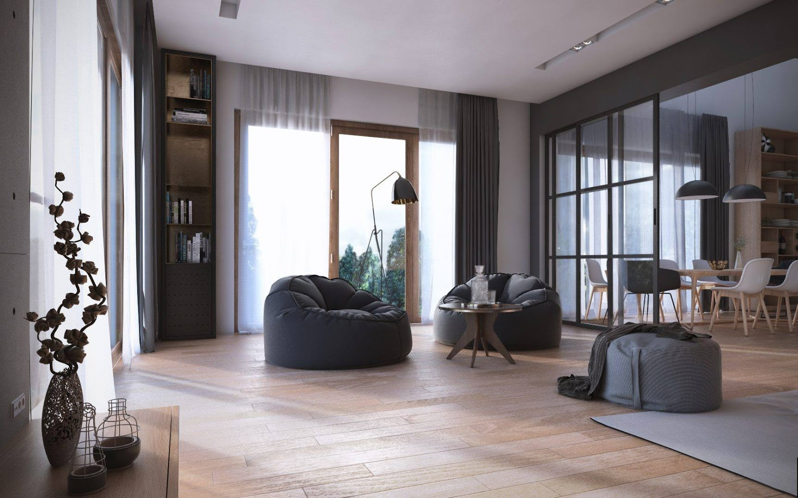 Tremendous Free 3D Sketchup Scene Scandinavian Studio By Cuong Le Inzonedesignstudio Interior Chair Design Inzonedesignstudiocom