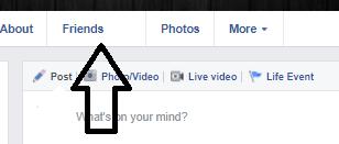 كيفية منع احد من رؤية اصدقائى على الفيس بوك