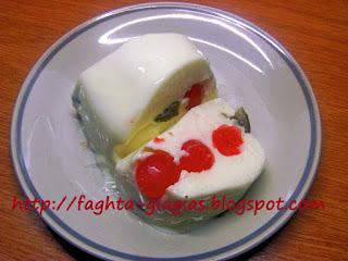 Ζελέ με γιαούρτι (γιαουρτοζελέ) - από «Τα φαγητά της γιαγιάς»