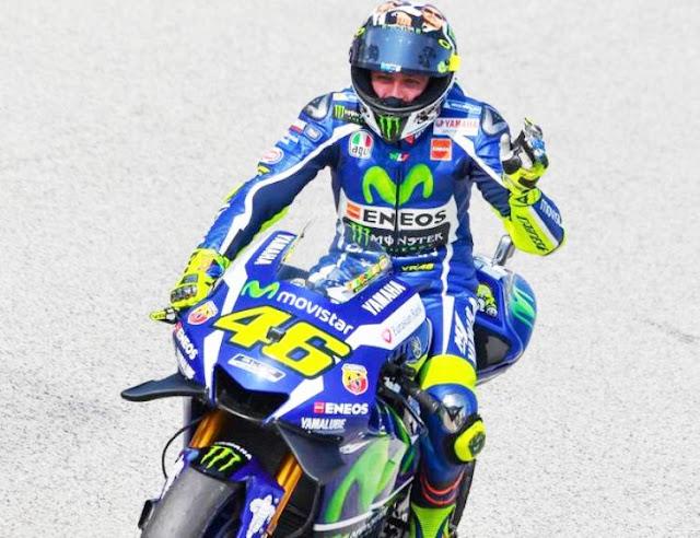 Menegangkan Sesi Qualifikasi MotoGP Aragon 2017, Rossi Ke 3