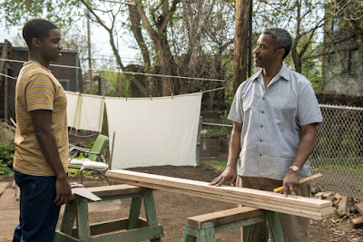 Fences Movie Denzel Washington and Jovan Adepo Image 2 (8)