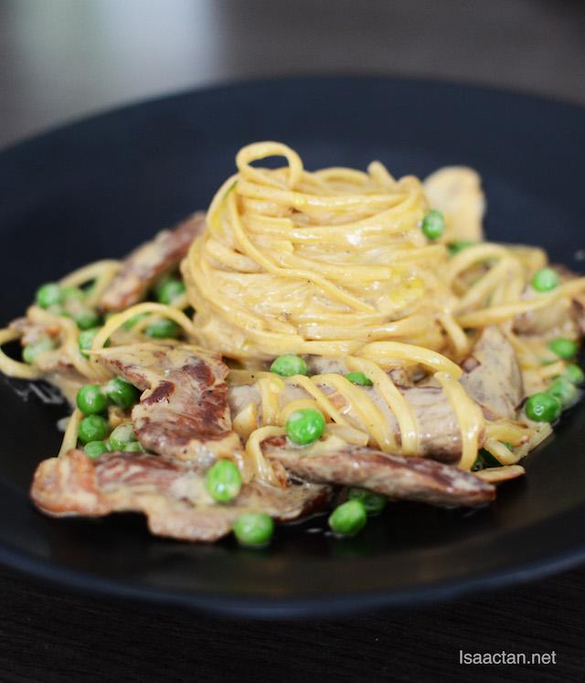 Beef Stroganoff Pasta