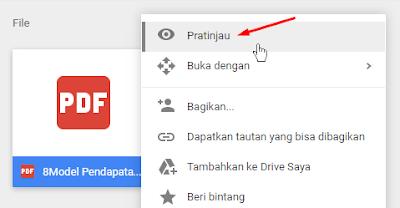 Cara Menampilkan PDF di Posting Blogspot