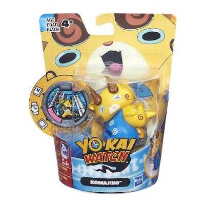 TOYS : JUGUETES - YO-KAI WATCH   Komajiro | Figura - Muñeco + Medalla   Medal Moments  Hasbro B7134 | Serie Televisión - Videojuego 2016 | Edad: +4  Comprar en Amazon España & buy Amazon USA