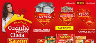 Promoção Sazon 2016 - Cozinha Cheia de Prêmios