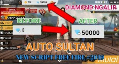 Download Script 50000 Diamond Free Fire