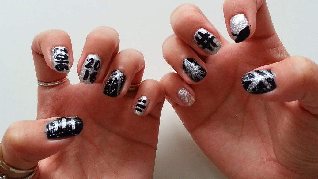 Cute New Years Nail Art Designs Pictures Free Download In Hd