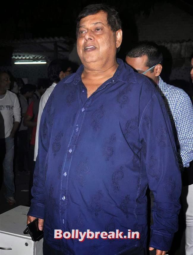 David Dhawan at Jai Ho Special Screening