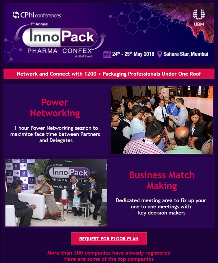 7th Annual InnoPack Pharma Confex 2018