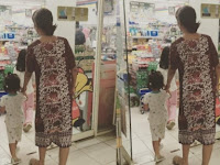 Belanja di Minimarket  Hanya Pakai Daster dan Sandal Jepit, Wanita Ini Ternyata Putri Indonesia 2014, Netizen: Gak Nyangka, Tetep Cantik