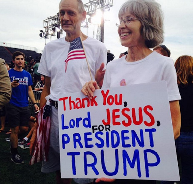 thank you Lord Jesus for Trump