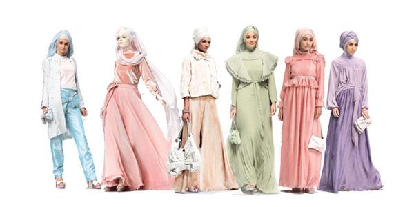 Image result for fashion hijab di Indonesia